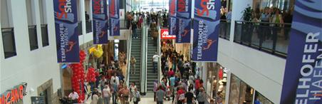 CPC Referenz: Einkaufszentrum Tempelhofer Hafen